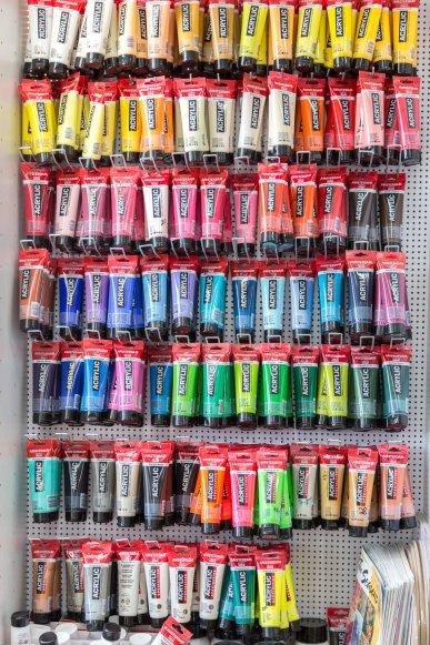 צבעים לציור בנתניה קרן