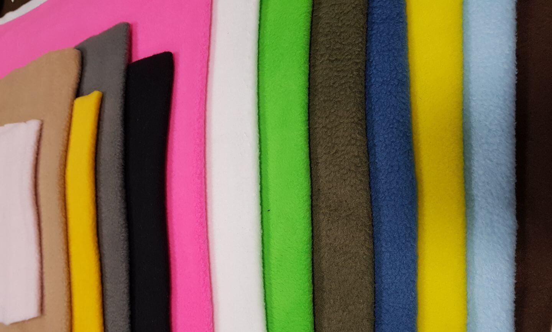 בד פליז במגוון צבעים..רוחב בד 1.50.