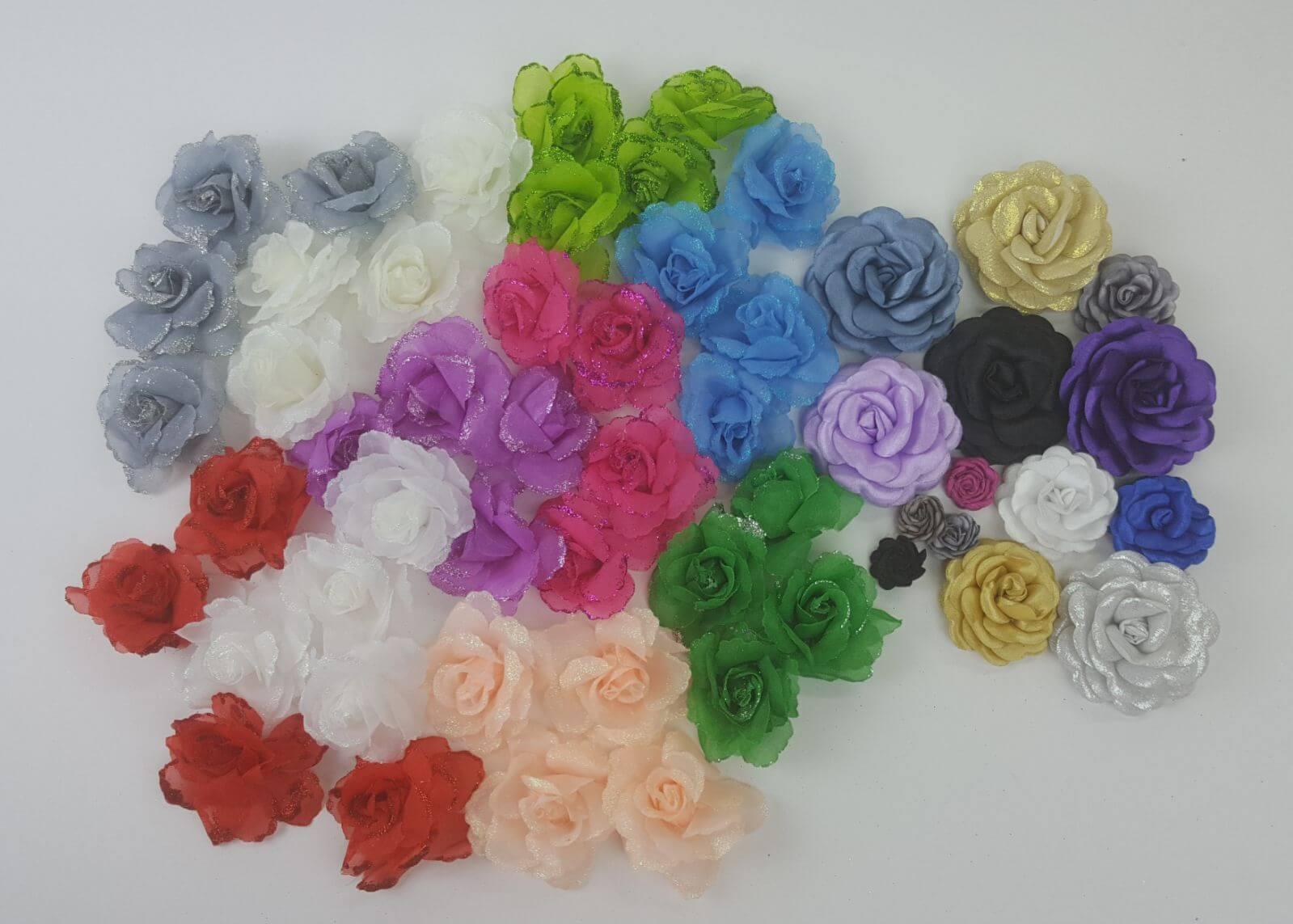 מגוון גדול של פרחים לעיטור וקישוט